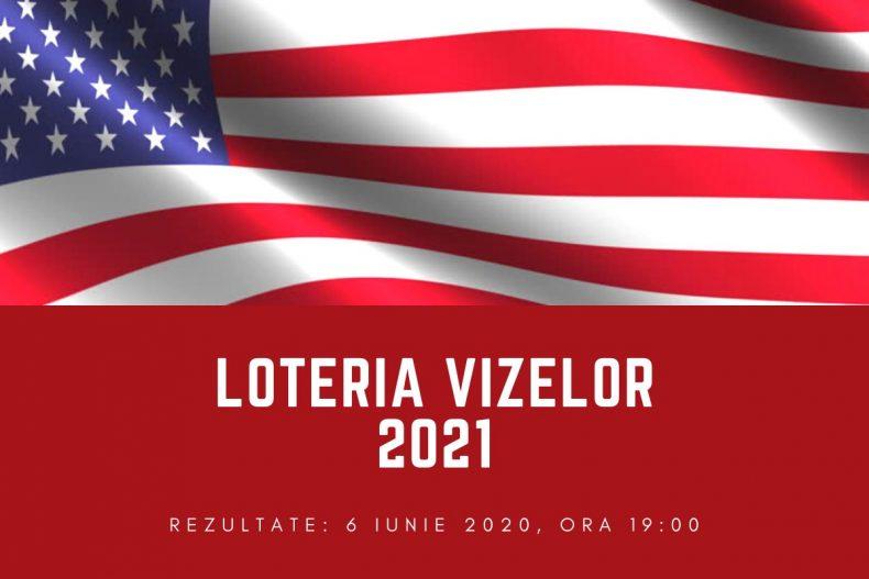 Anunţarea rezultatelor pentru Loteria Vizelor SUA 2021